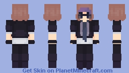 "Logan | Sander sides | ""You should be more like him, Logan. Be 'Cool'"" Minecraft Skin"