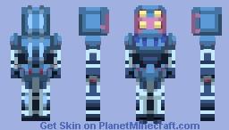 Dark Blue Moon   Stardust Crusaders Minecraft Skin