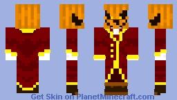 horror pumpkin Minecraft Skin