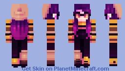 Electric Lady Minecraft Skin