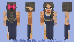[X] Cute Wood -Elf Minecraft Skin