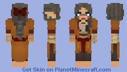 [X] Autumnal Druid Minecraft Skin