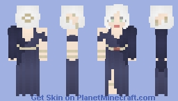 [X] High-Elf Mage Minecraft Skin