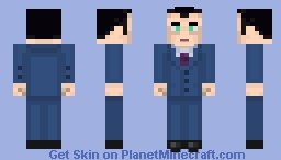 G-Man (Half-Life) Minecraft Skin