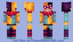 Chester the Jester Minecraft Skin