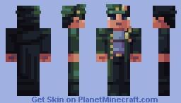 Jotaro Kujo Minecraft Skin