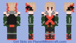 Bakugo (BNHA) Minecraft Skin