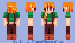 Leah {Stardew Valley} Minecraft Skin