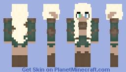 Medieval Times elf girl Minecraft Skin