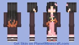 Kamado Nezuko | Kimetsu no Yaiba Minecraft Skin