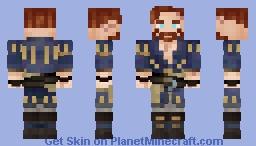 [Best in 3D] Olgierd von Everec - Witcher 3 - Hearts of Stone Minecraft Skin