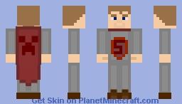Knight Unmasked Minecraft Skin