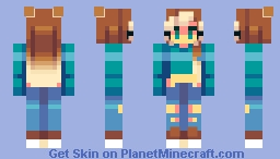 paralyzed Minecraft Skin