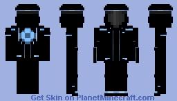 Tron: Legacy Minecraft Skin