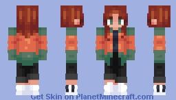 I'm back (Sort of) Minecraft Skin