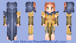 """""""The Lone Hunter"""" (Medieval Times Skin Contest) Minecraft Skin"""