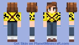 Eleven's Aztec outfit! (credits to SpellitwithaK! for the head of the skin!) Minecraft Skin
