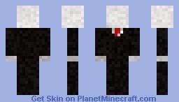 SLENDER: The Arrival - Slenderman Minecraft Skin