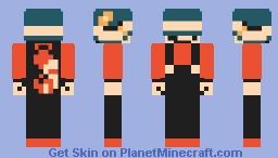 Tanooki Mario with a Buzzy Beetle Helmet Minecraft Skin
