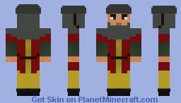 Medieval soldier (unfinished) Minecraft Skin