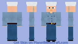 WW2 U.S Navy Sailor Minecraft Skin