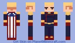Homelander - The Boys Minecraft Skin