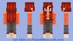 rainbow series ~ red Minecraft Skin