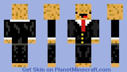 Potato in a Suit Minecraft Skin