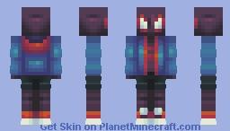 Miles Morales Minecraft Skin