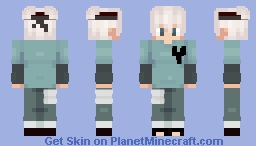 Shaded Teen Boy Minecraft Skin
