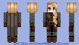 Éowyn - (Armored Version) Minecraft Skin