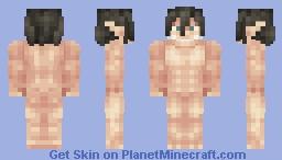 Eren's Titan - Shingeki no Kyojin Minecraft Skin