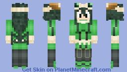 Tsuyu Asui (Boku no Hero Academia) Minecraft Skin