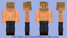 Ancient Germanic Warrior Minecraft Skin