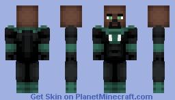 Green Lantern ( John Stewart ) ( Justice-League Unlimited ) Minecraft Skin