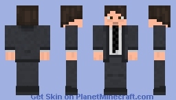 Young Business Man Minecraft Skin