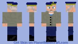 Colonel Miller | Metro Exodus | Metro 2035 Minecraft Skin