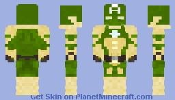 Steve Rogers - Hydra Supreme Minecraft Skin