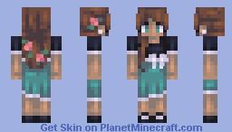 ♥мαηgℓє∂♥ Petals Minecraft Skin