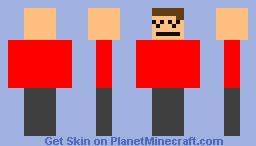 A mii with Self- Esteem problems. Minecraft Skin