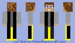 el hombre de los hombres Minecraft Skin