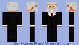 el señor de los negocios Minecraft Skin