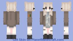 Light Girl Minecraft Skin