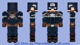 Captain America | The Winter Soldier Minecraft Skin