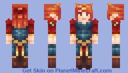 𝒦𝑒𝓃𝒹𝓇𝒶 Minecraft Skin