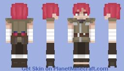 Naruto - Sasori (Sand Outfit) Minecraft Skin