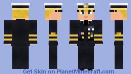 WW2 U.S Fleet Admiral Minecraft Skin