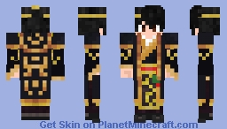 Chinese emperor - Young Ying Zheng Minecraft Skin