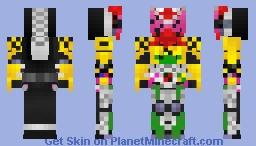 Kamen Rider Zi-O OOO Armor 仮面ライダージオウオーズアーマー Minecraft Skin