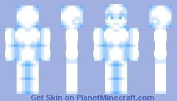 just a nice shiny blue boy Minecraft Skin